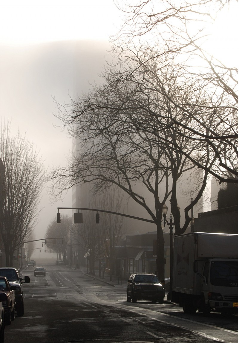 Foggy Portland Morning