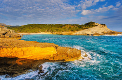 Coast of Mallorca Spain XIV
