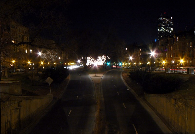 Diverging Roads in Boston
