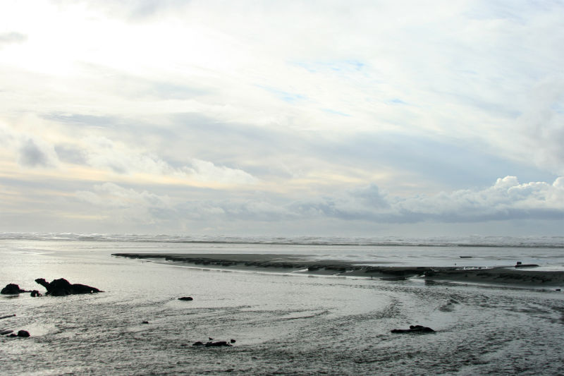 Pacific Ocean in Winter