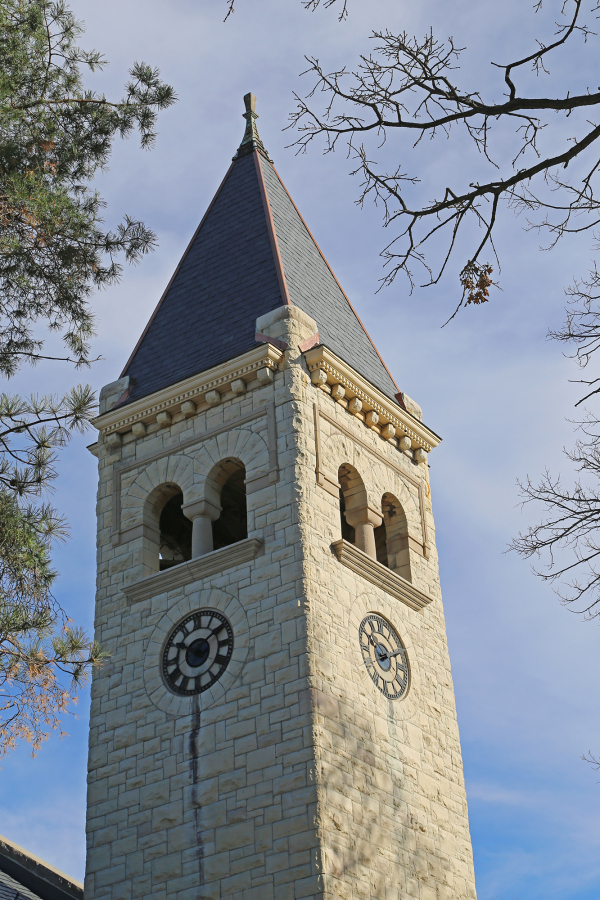 Clock Tower at Beloit College, Wisconsin