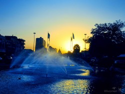 Baharestan Sq. Sunset