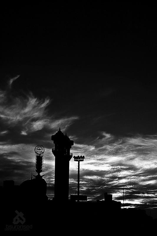 Fatemi Sq. Sunset