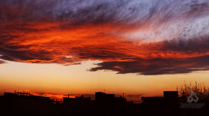 Just Another Sunset in Tehran