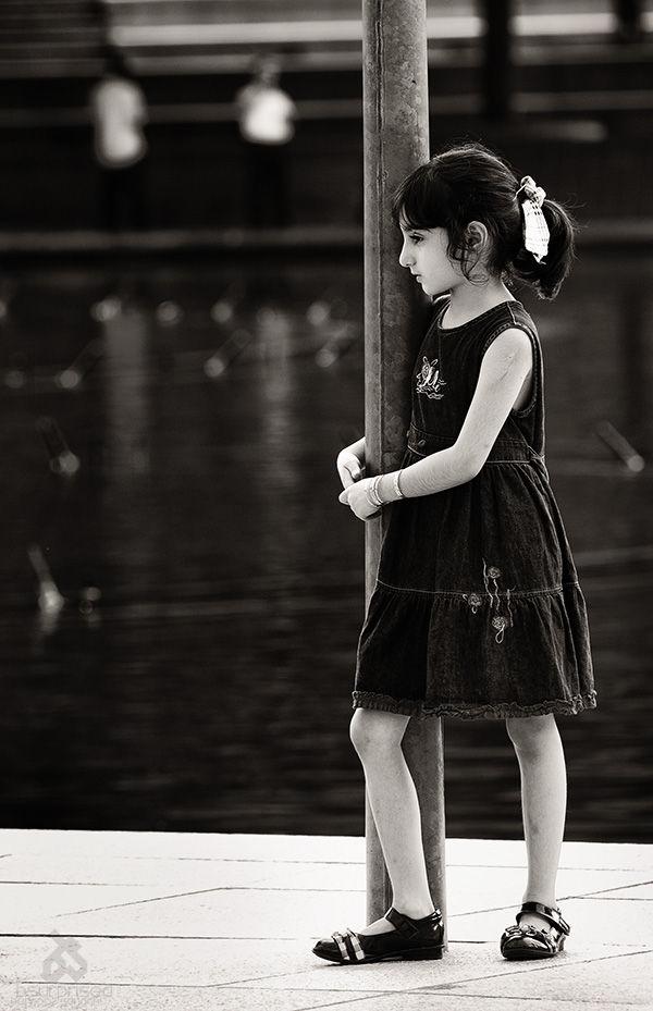 Thinking Little Girl