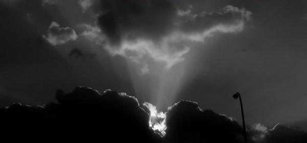 bright light cloud Osaka