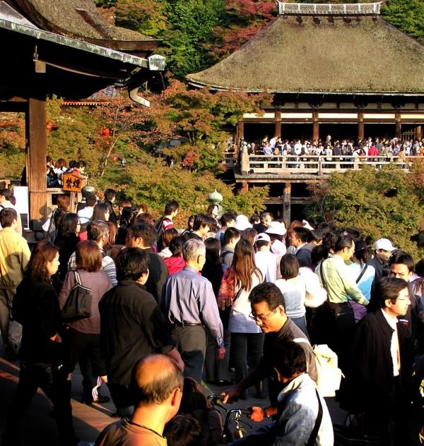 Sightseeing at Kiyomizu-dera Japan Kyoto