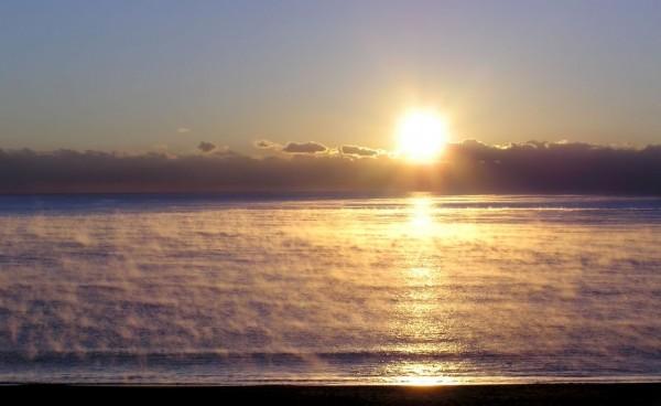 sunrise Ohama beach Hiwasa Tokushima