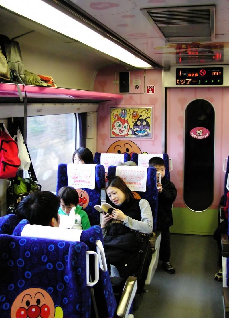 Anpanman train Matsuyama