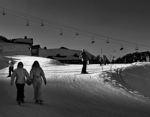 france chatel ski snow pré-la-joux