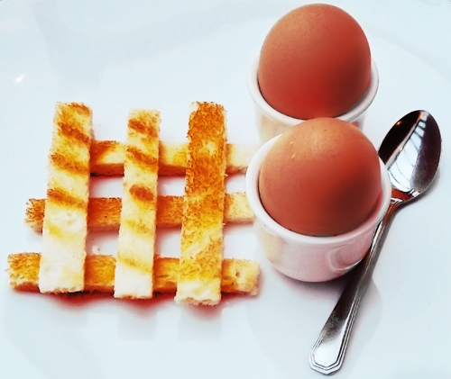 england egg toast breakfast