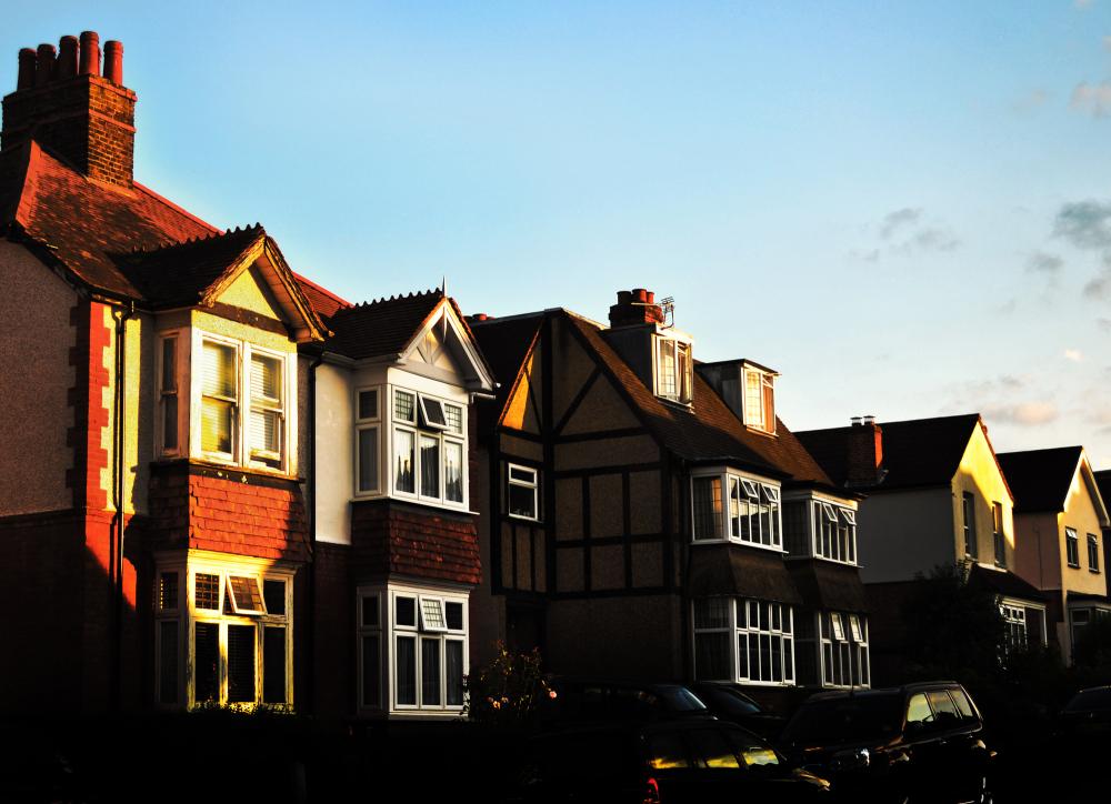 worcester-park england sunset street house