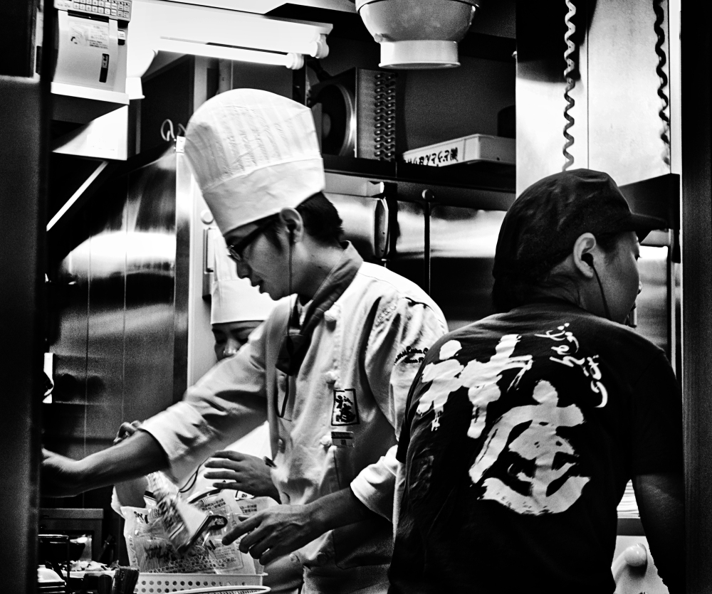 japan osaka ramen kitchen cook chef