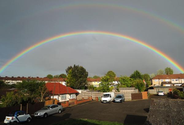 worcester-park england rainbow