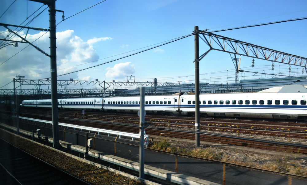 shinkansen train japan track