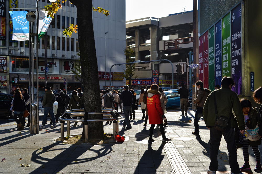 nagoya japan meieki aichi street