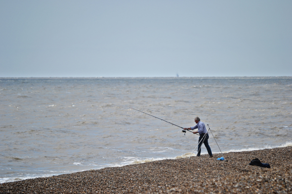 suffolk england beach fishing sea aldeburgh