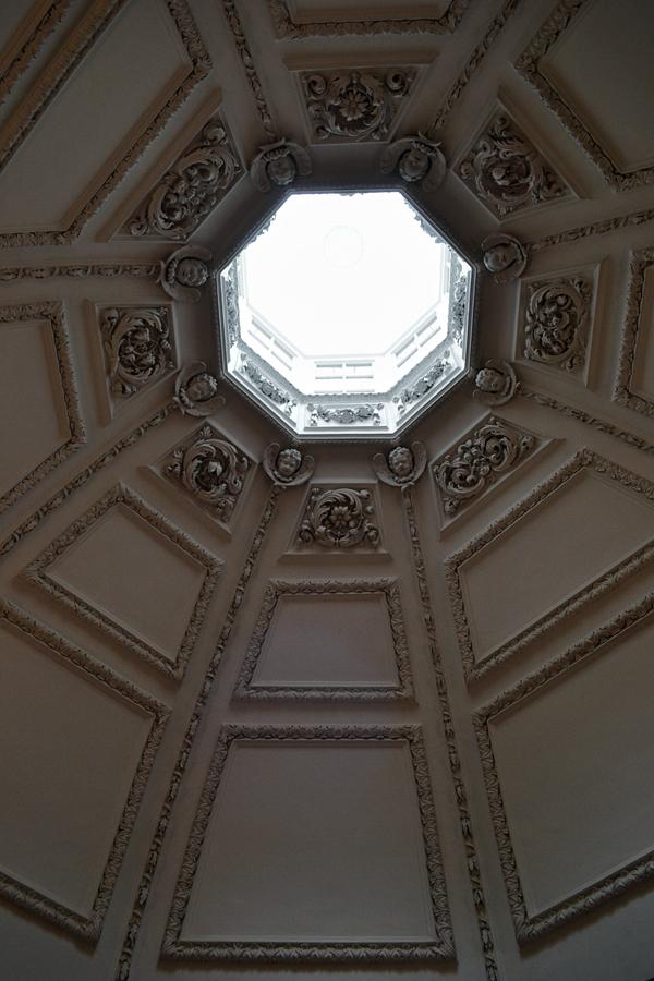 hampton-court palace england skylight oratory