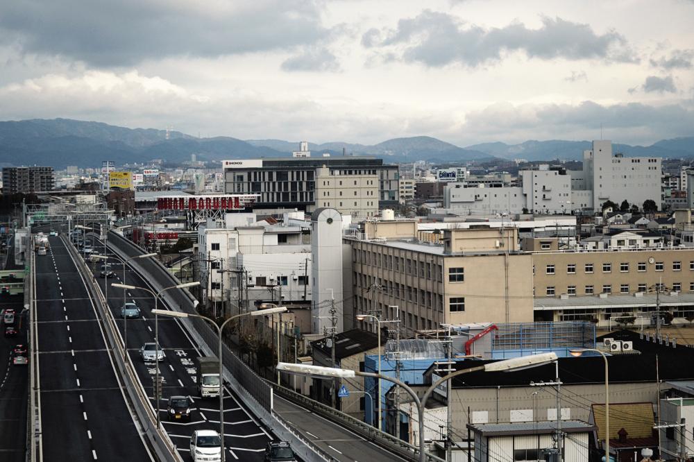 japan osaka expressway road