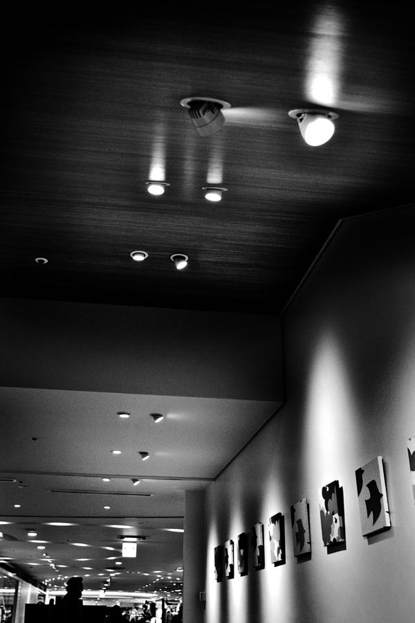 cafe umeda osaka japan light