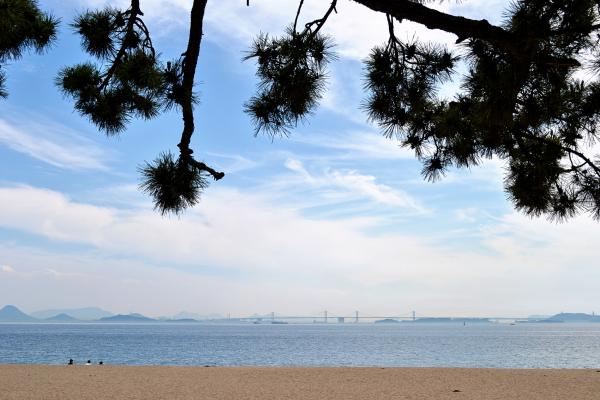 tamano okayama japan beach sea seto-ohashi