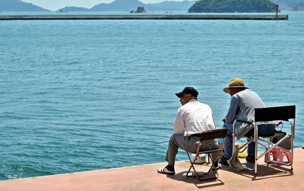 uno okayama japan seto-naikai fishing