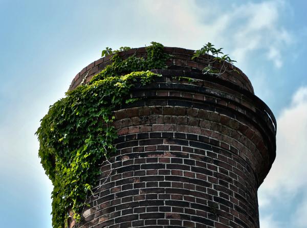 japan kagawa inujima seirensho brick tower