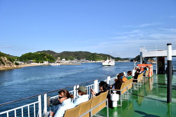 japan kagawa naoshima ferry passenger seto-naikai