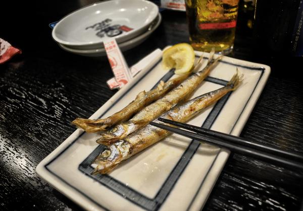 osaka japan izakaya restaurant yama-chan shishamo