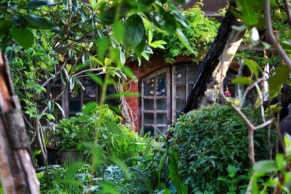 okayama omoto japan garden house window