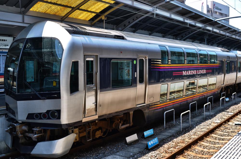 train shikoku takamatsu marine-liner japan station