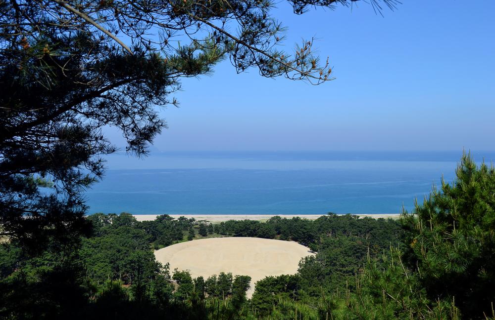 Zenigata-Sunae Kannonji shikoku japan beach sand
