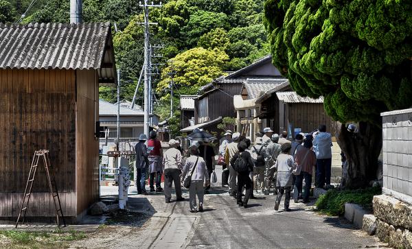 shikoku japan honjima village tourist