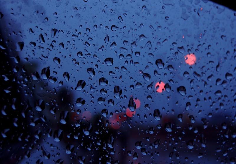 The little raindrops