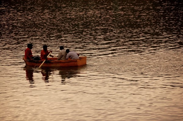 Boating at Yelagiri lake