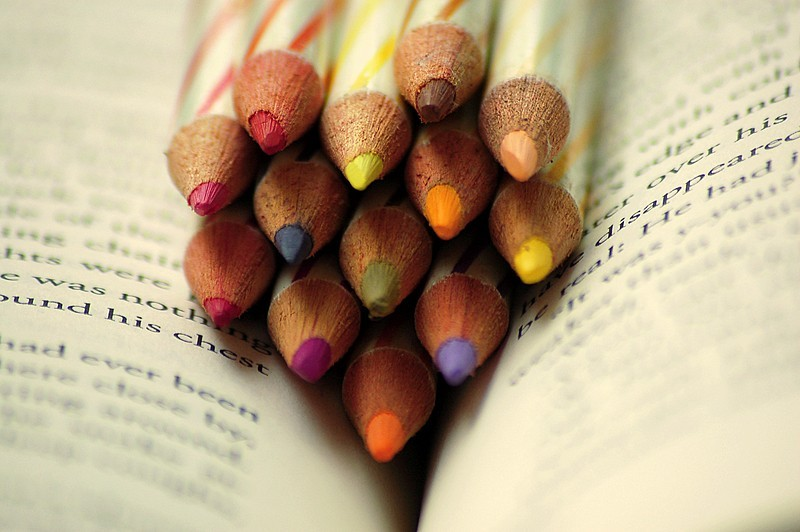 A colourful read - 1