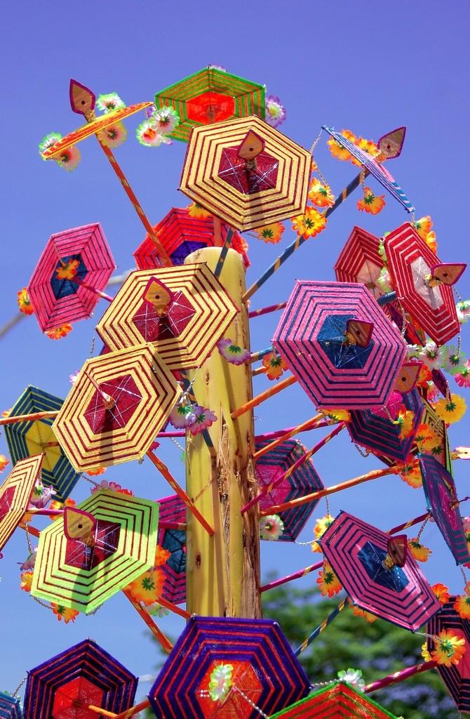 Umbrellas of ganesha!