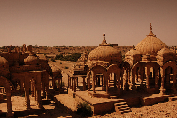 Deserted tones of Jaisalmer!