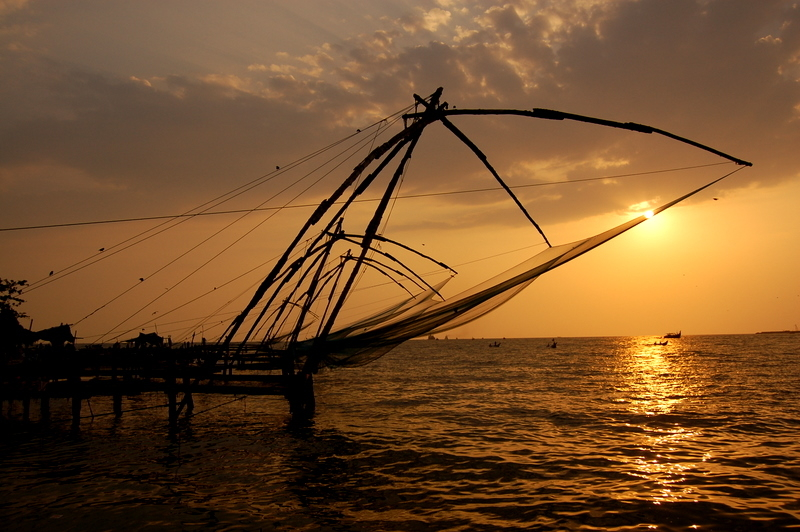 Evening ecstasy at Kochi!