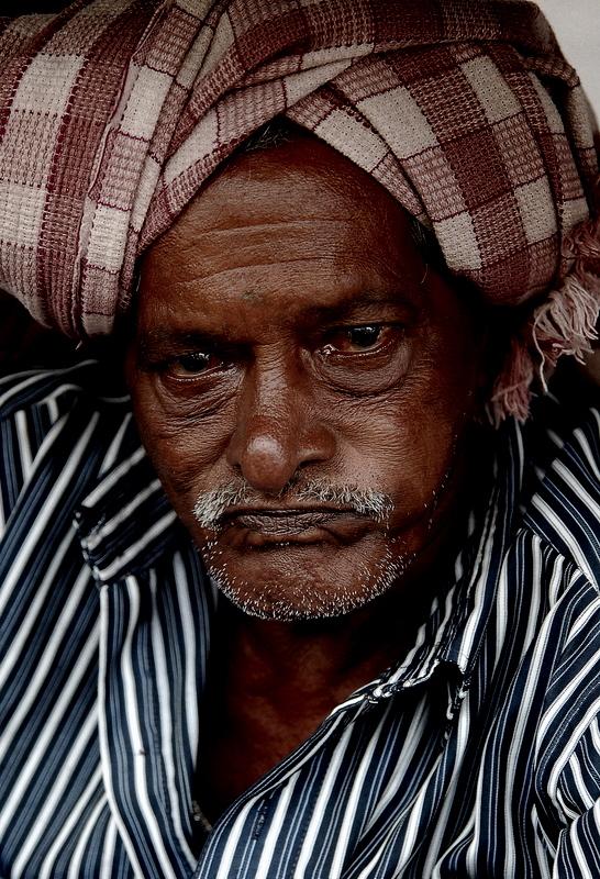 Kanda, the Rickshaw puller