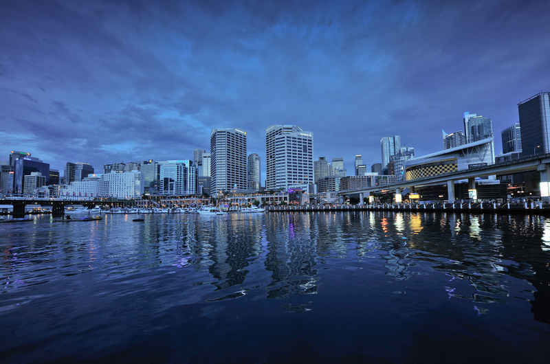 Twilight pallete from the Darling Harbour