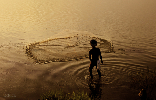 When net meets the water!