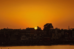 The Varanasi Sunset