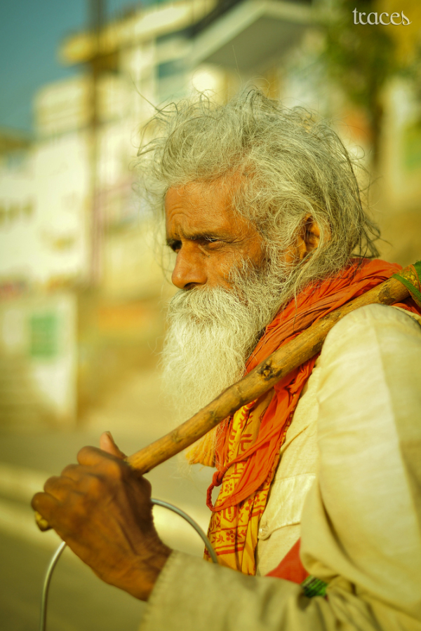 Contemplating the time spent at Varanasi