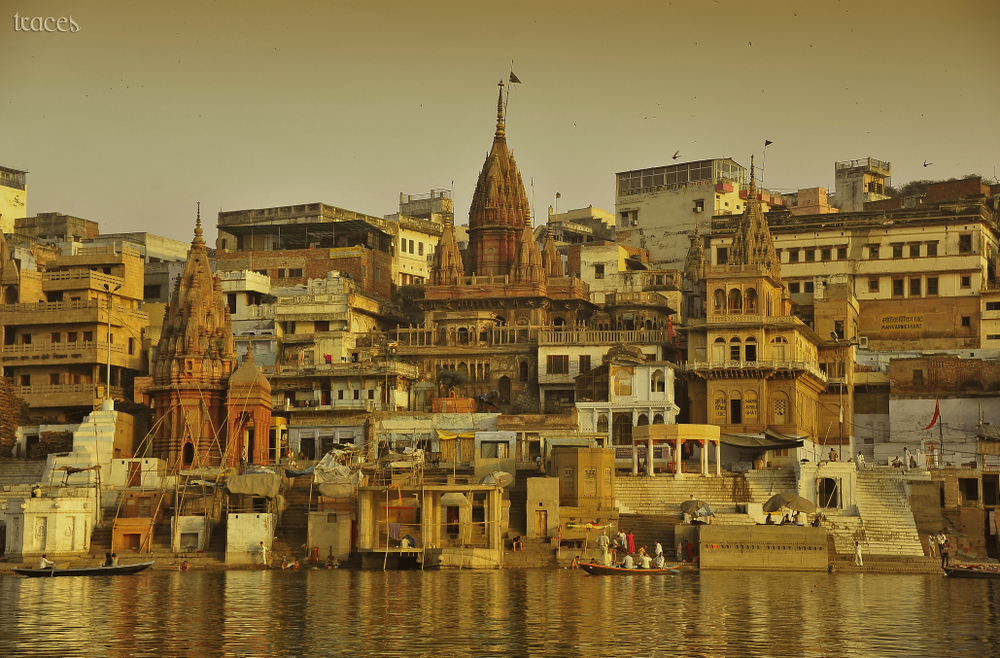 The Manikarnika Ghat