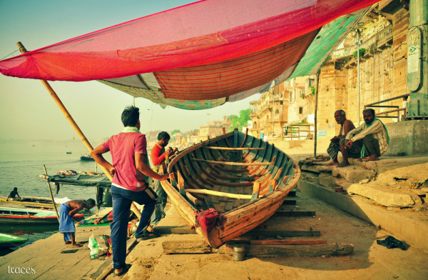 Boat makers of Varanasi