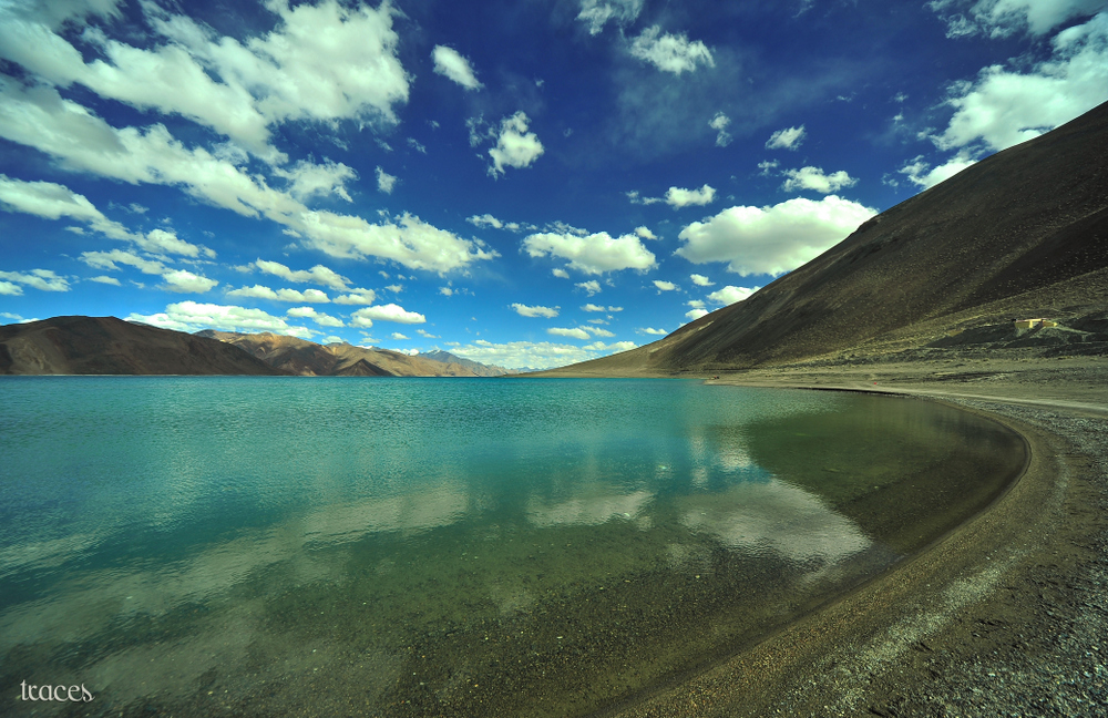 The other side of Pangong Tso