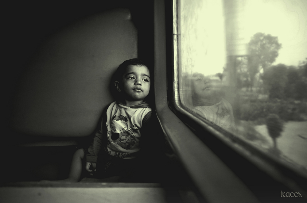 The first train journey