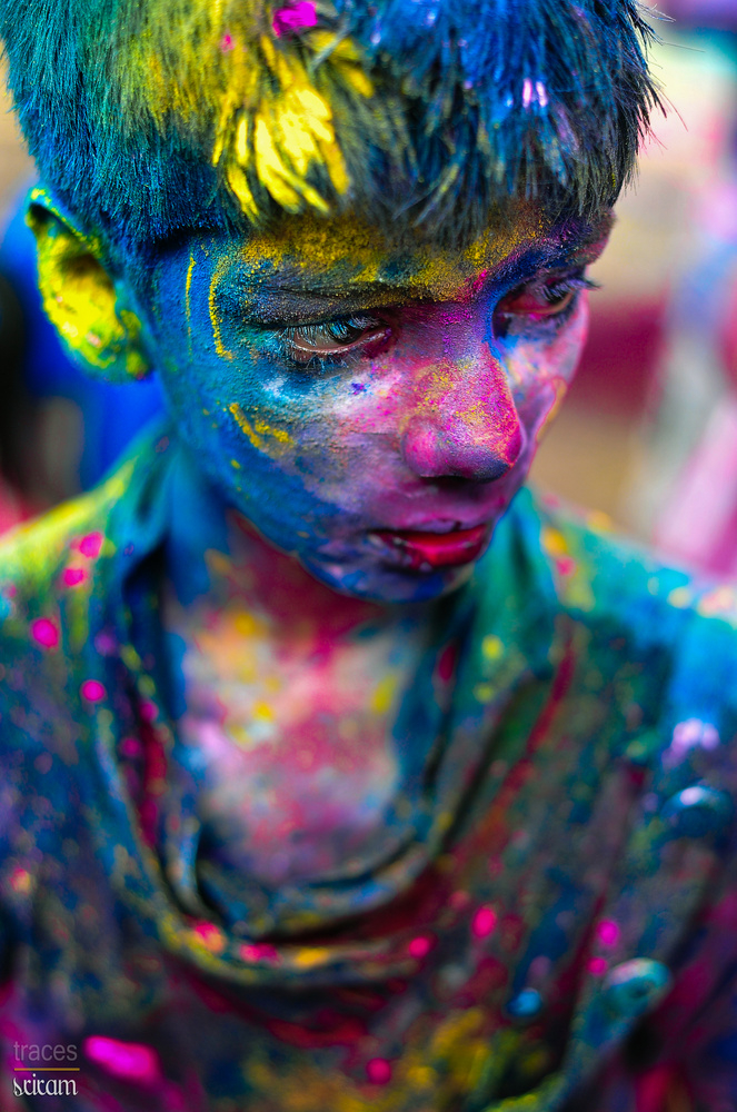 Colours were all over!