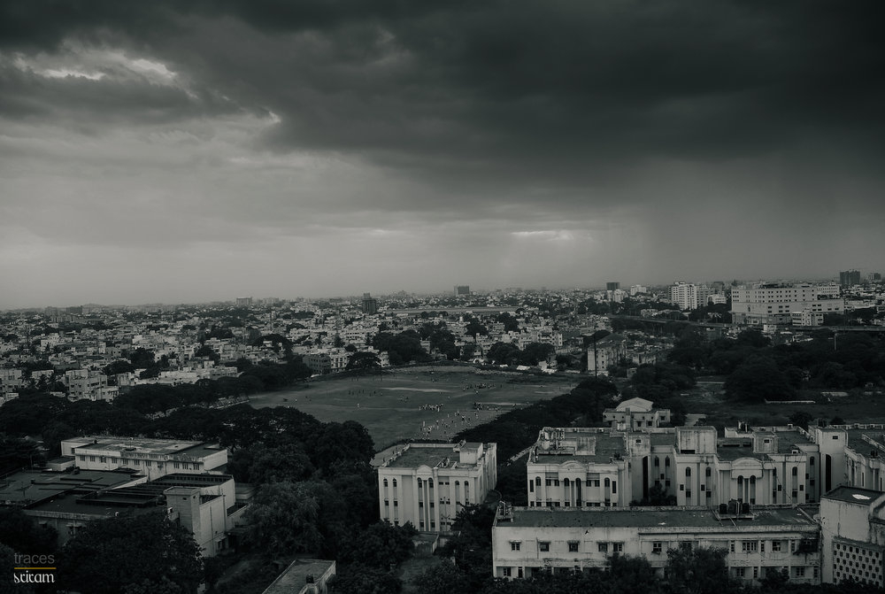 Clouds above Mylapore